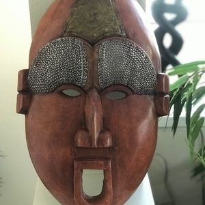 West African Custom Wooden Mask